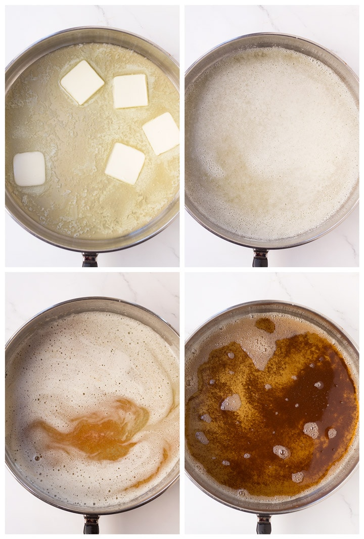 4 steps to brown butter on the stovetop