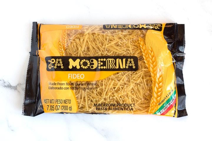 Fideo Pasta In Bag