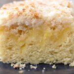Macro picture of Lemon Coffee Cake