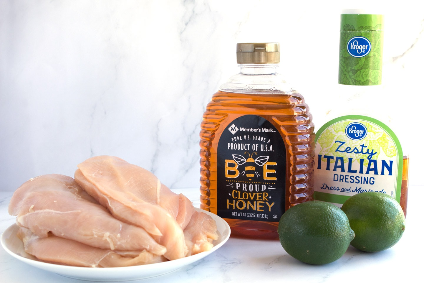 Ingredients for Sweet and Zesty Grilled Chicken Marinade